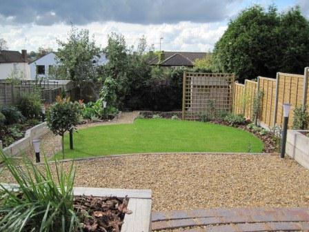 jan alway garden design sloping site